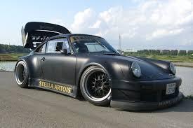rwb porsche 911 rwb matte black 930