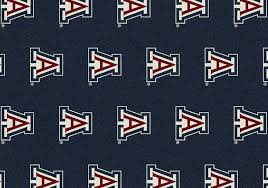 Arizona Rug Arizona University Repeating Logo Rug Fan Rugs