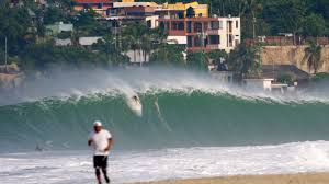 pumping in puerto puerto escondido mexico