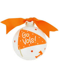 tennessee 1 fan glass keepsake ornament with gift box utn fan1