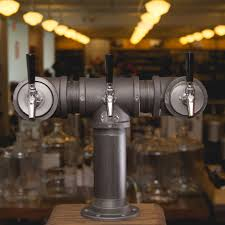 Perlick Vs Standard Faucet Beer Tower Black Iron Triple Tap Perlick 630ss Faucet