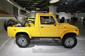 modified gypsy maruti grand vitara luxion and maruti gypsy escapade shown