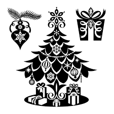 625 best christmas silhouettes images on pinterest christmas