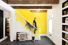 Modern Row House An Old Row House In Montreal Gets A Colorful Modern Upgrade Fran
