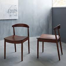 Midcentury Modern Dining Chairs - lena mid century dining chair west elm