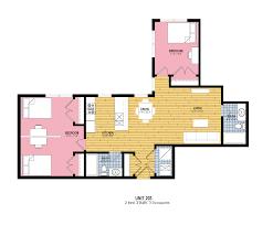 2 Bedroom 5th Wheel Floor Plans The Residences At 545 How Propertieshow Properties