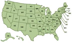 us state abbreviations map civilengineeringjobs com u s state abbreviations