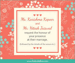 indian wedding invitation wording 50 wedding invitation wording ideas you can totally use
