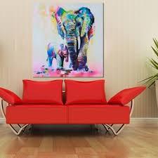 popular elephants oil canvas buy cheap elephants oil canvas lots
