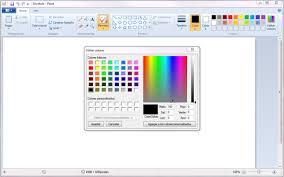 paint software ms paint