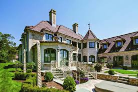 French Country Estates by Douglas Vanderhorn Architects Waterfront French Eclectic