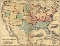 United States Map 1860 by Maps And Mapmaking Encyclopedia Of Greater Philadelphia
