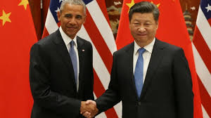 China Makes Carbon Pledge Ahead Of Climate Change Pacific China And Us Ratify Cop21 Climate Agreement