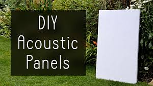 how to make high performance sound absorption panels for 5 youtube