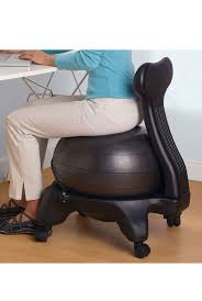 furniture alluring gaiam balance ball chair for comfy home