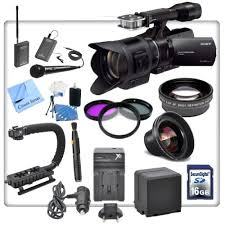 gadgets definition sony nex vg30 interchangeable lens hd handycam camcorder with 18