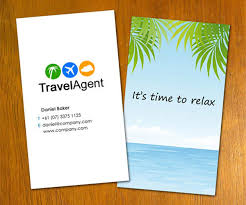 Travel agent business cards travel agent business card best
