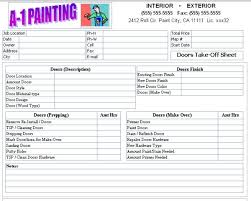 Estimate For Painting House Interior by How To Bid Interior Painting Home Painting