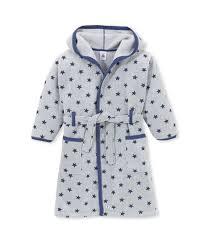 robe de chambre fille robe de chambre garon en polaire imprime gris subway bleu logo