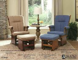 living room glider living room glider rockers brooks furniture maple post back glider