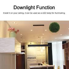 4pcs bluetooth speaker warm white led ceiling downlight w ir