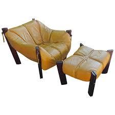 Mustard Yellow Ottoman Percival Lafer Mustard Yellow Lounge Chair With Ottoman