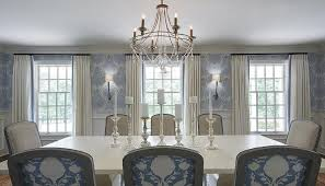 Dining Rooms With Wainscoting Ivory And Blue Dining Room With Wainscoting Transitional