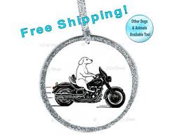 dogs on motorcycles etsy