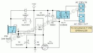 motion sensor switch for light alarm or sprinkler
