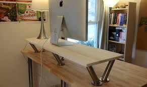 Ikea Fredrik Standing Desk by Ikea Diy Standing Desk Frugal And Healthy Living The Ikea