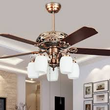 Fancy Chandelier Light Bulbs Om6805 Fancy Ceiling Fan Lightcrystal Decoration Light Fans With