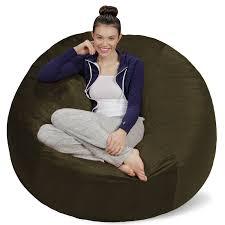 sofa sack memory foam bean bag chair 5 ft walmart com