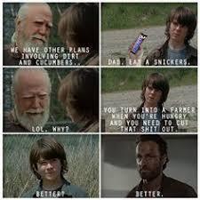 Walking Dead Meme Rick Crying - rick and carl walking dead funny memes and best of the funny meme