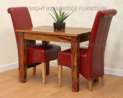chair birch wooden dining table with straight legs and four