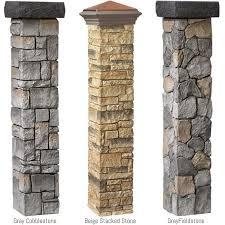 Home Depot Decorative Stone Best 25 Stone Mailbox Ideas On Pinterest White Mailbox Stone