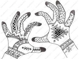 tribe henna design with patterns henna mehndi designs