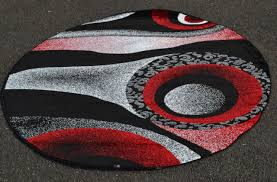 10 Foot Round Area Rugs Black And Red Contemporary Area Rugs Design All Contemporary Design
