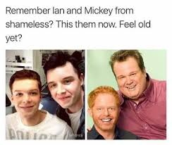 Shameless Meme - shameless us meme ian and mickey from modern family on bingememe