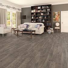 prestige grey brown oak 8mm v groove laminate flooring factory