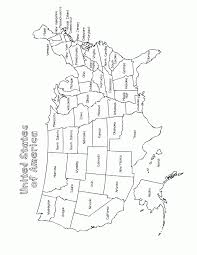 Maps United States Map To Color Printable Usa State Map Coloring Coloring Pages Usa