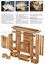 kitchen wall hung dresser plans u2022 woodarchivist