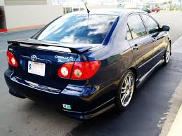 toyota corolla s 2005 for sale autoland 2005 toyota corolla s drop kit auto a c rims