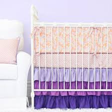 how to choose the purple crib bedding gretchengerzina com