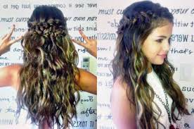 cute prom hairstyles with braids for long hair 2017