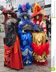 venetian costume colorful venetian costumes editorial image image 28798890