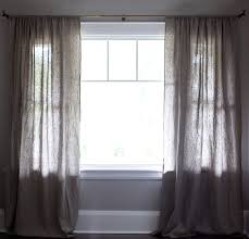 Should Curtains Touch The Floor 100 Linen Curtains Rough Linen Premium Heavy Weight Linen Drapes