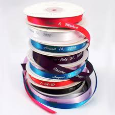 customized ribbon personalized plain ribbon the knot shop