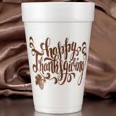 thanksgiving cups thanksgiving cups and napkins