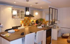 cuisine ouverte ilot central réalisation d une cuisine ouverte avec création îlot central et