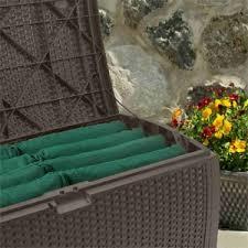 suncast deck box mocha wicker resin review pool for thoughtpool